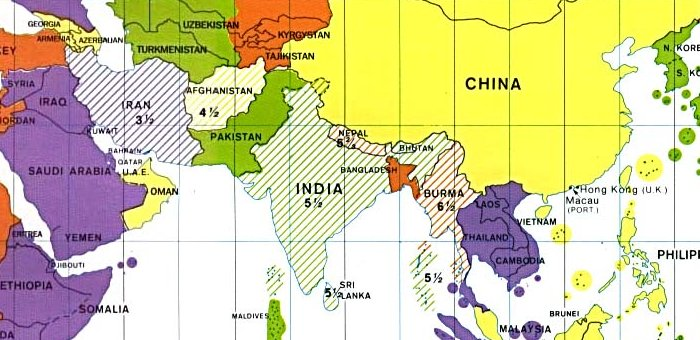 Time Zones In India Map Kate Gregory's Blog   Time Zones